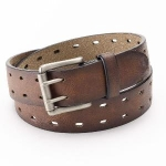 Urban Pipeline Double-Prong Brown Belt - Men, Size: L