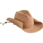 Womens San Diego Hat Company Mixed Braid Cowboy Hat MXC4005 Rust