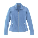 North End North End Ladies Recycled Polyester Fleece Full-Zip Jacket 78064
