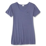 Jaclyn Smith Womens T-Shirt Nightgown
