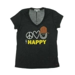 Peace Love World Mimi Modal Graphic T-Shirt