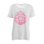 Juicy Couture Black Label Boho Foiled Graphic T-Shirt