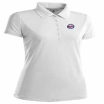 Antigua Minnesota Twins Womens Pique Xtra Lite Polo Shirt (White) (Size:Large ) by Antigua