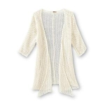Route 66 Girls Open Knit Cardigan