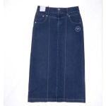 Style&Co Styleco. Denim Maxi Skirt, Oxford Wash Oxford Size 4