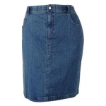 Charter Club Charter Club Womens Comfort Waist Denim Skirt