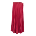 Toptie TopTie Women Blending Chiffon Retro Long Maxi Skirt, Pleated Long Skirt