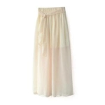 Toptie TopTie Slit Maxi Skirt, Gap Foldover Long Skirt