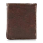 Buxton Mens Leather Folio Wallet & Valet